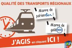 Performance des trains régionaux