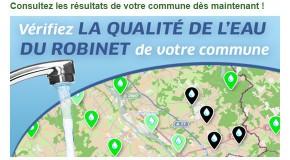 Carte interactive de la qualité de l'eau : À JOUR et GRATUITE !