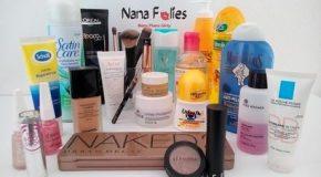 Substances indésirables dans les produits cosmétiques