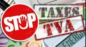 TVA sur les taxes — Stop à la double-peine fiscale !