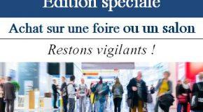 Édition spéciale 2020 «Foires et salons»