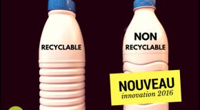 Bouteilles de lait – Boycottez le PET opaque !