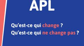 Grosses modifications pour les A.P.L. dès le 1er janvier 2021